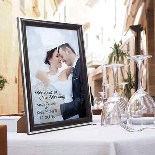 Framed Print Photo Book for Travel Wedding