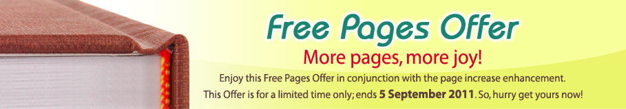 Free Pages Offer