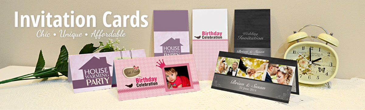 PIXAJOY :: Invitation Card