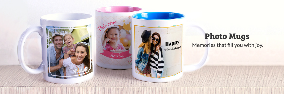 Personalised Your Own Photo Mug Magic Mug Pixajoy