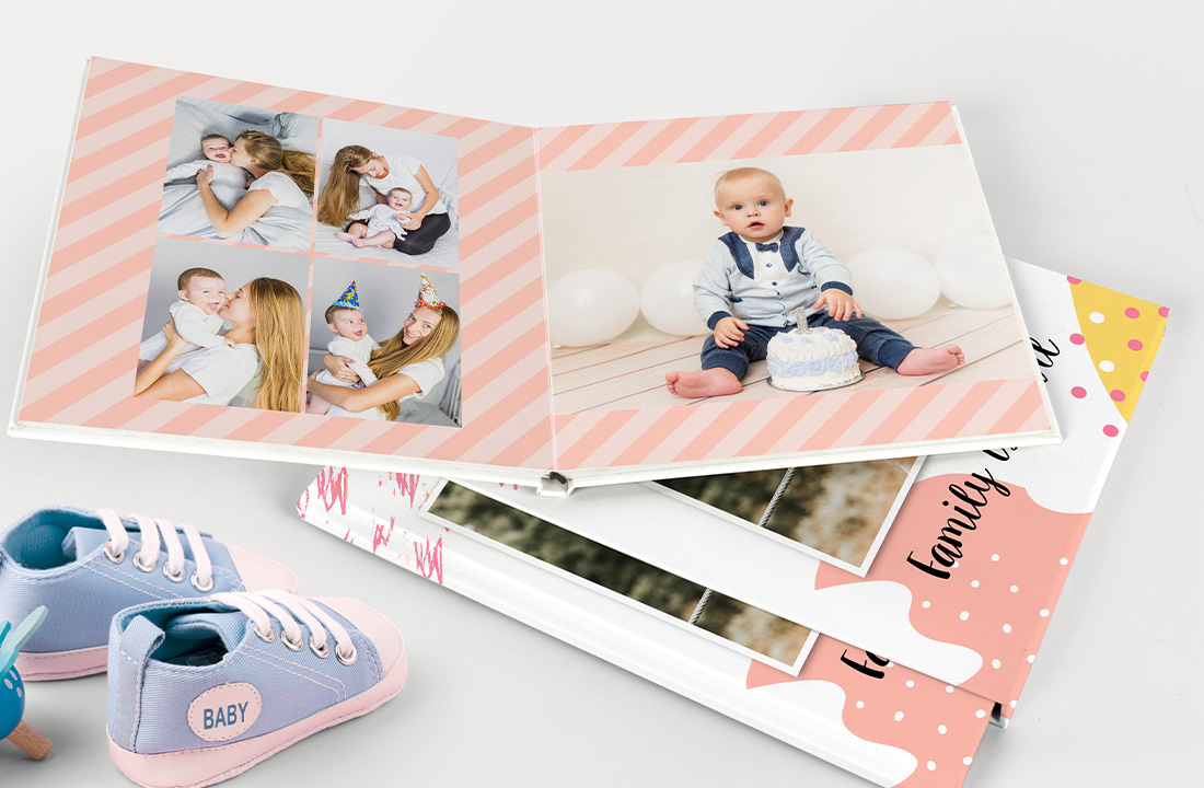Baby Milestone Photo Book
