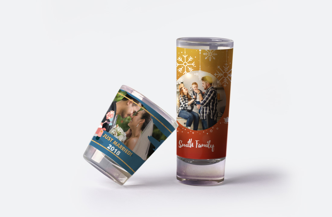 Newlywed Shot Glasses