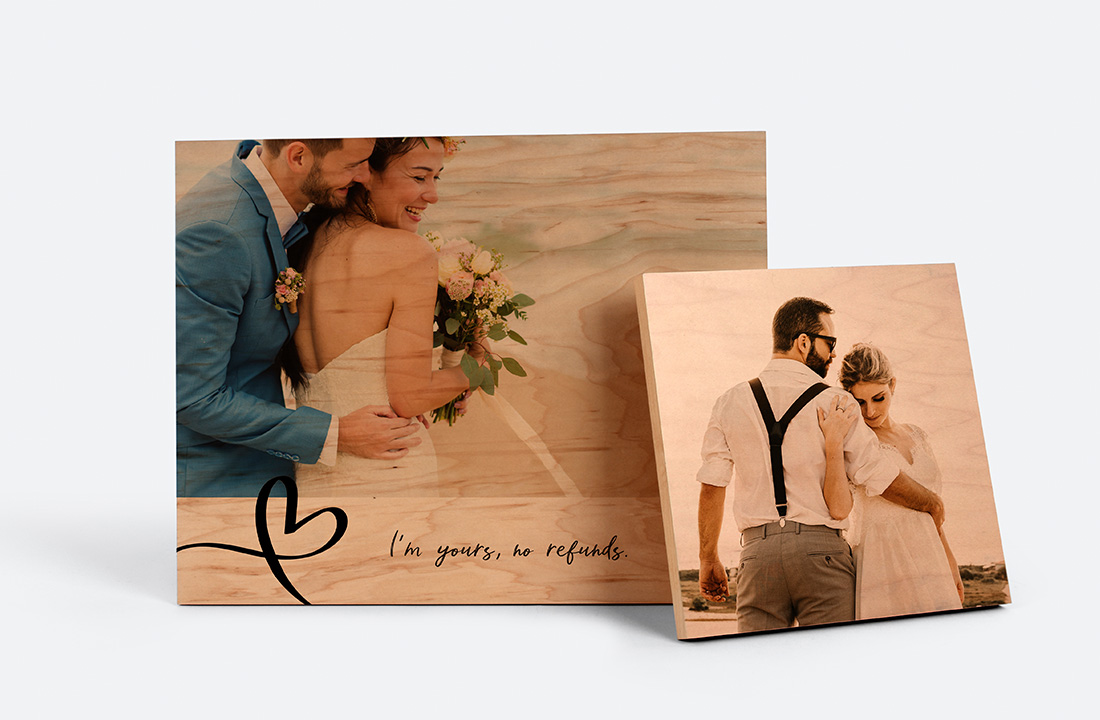 Wedding Wood Prints