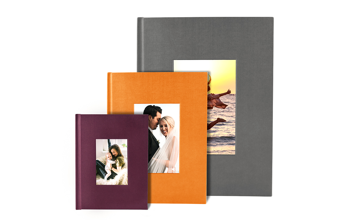 Portrait Debossed Hardcover Photo Book