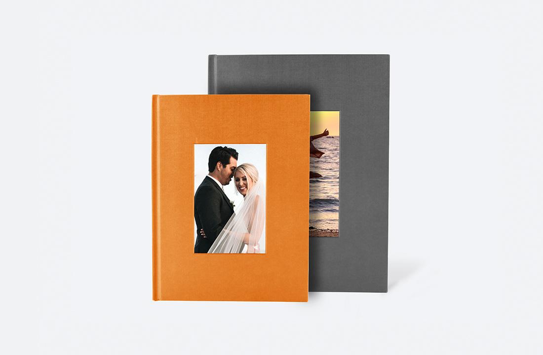 Portrait Debossed Hardcover Photo Book