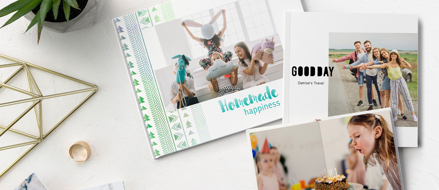 Wrap of photo book gallery
