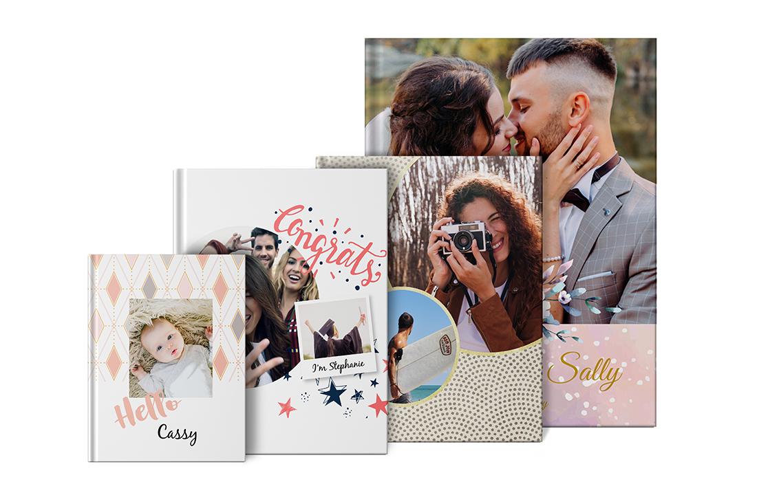 Portrait Imagewrap Hardcover Photo book