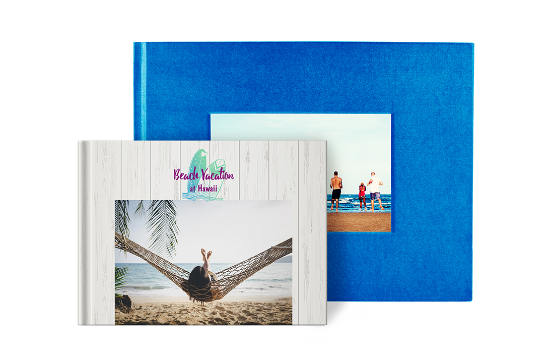Landscape Flush Mount Photo Book