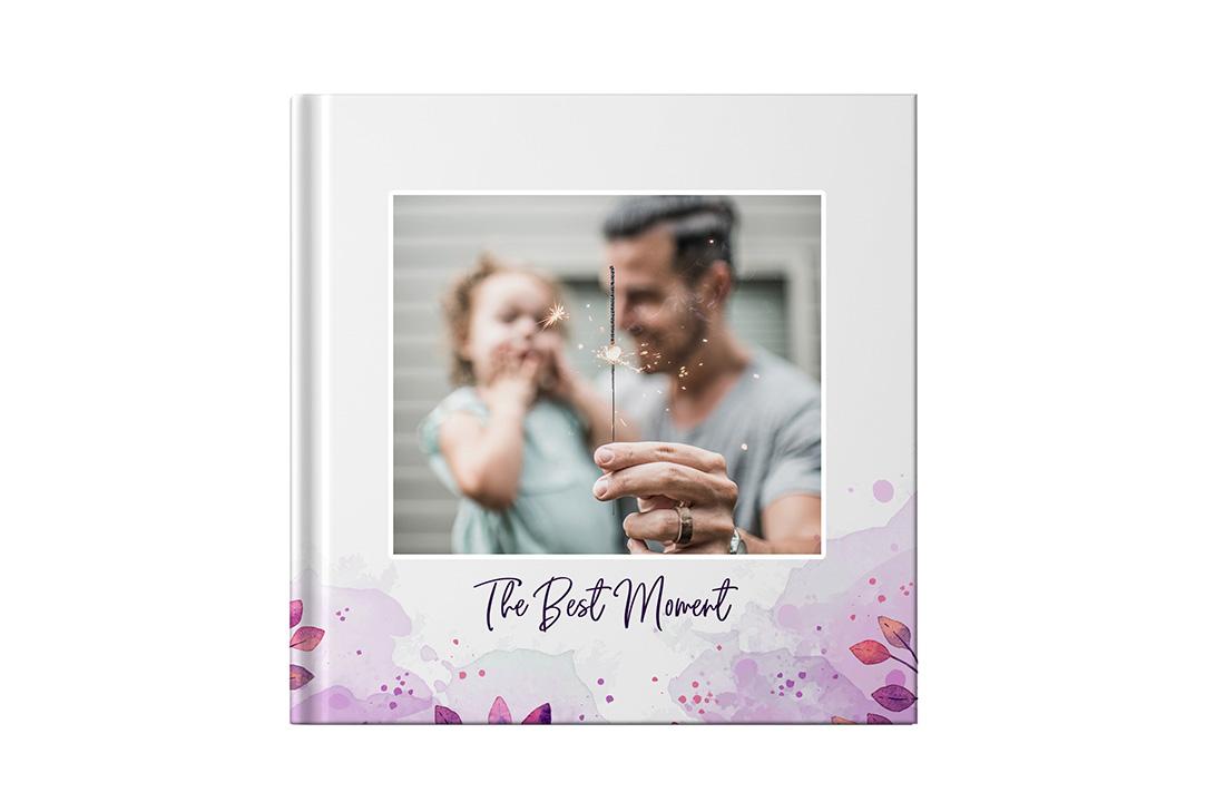 Square Layflat Photo Book
