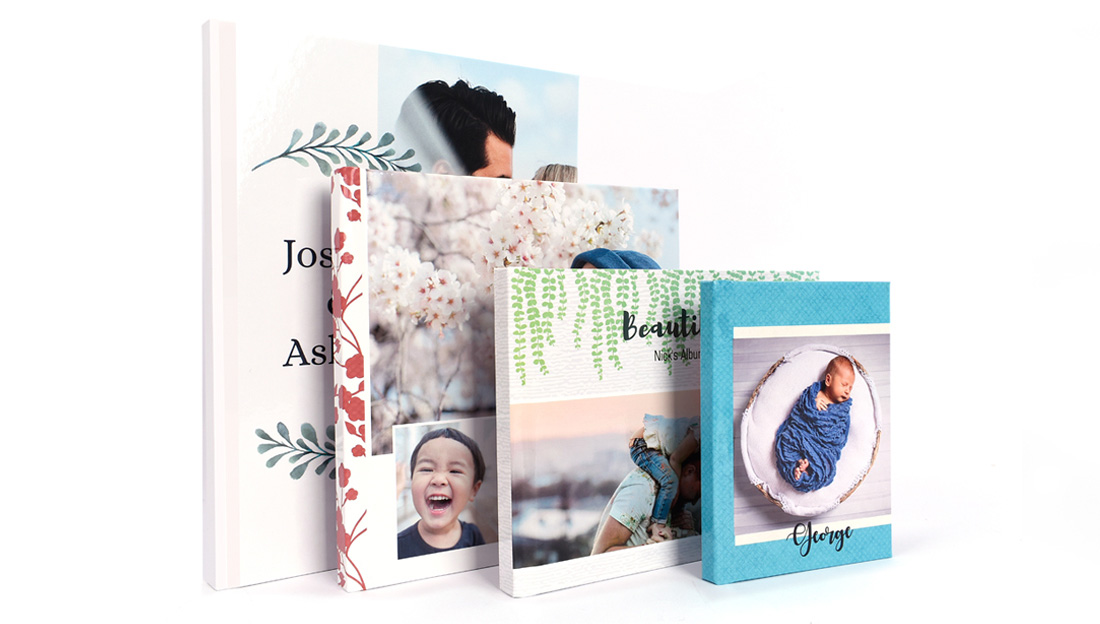 Wrap up of Flush Mount Photo Book