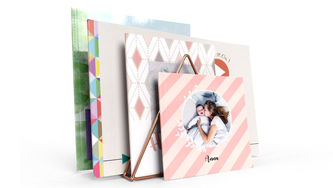 Easy sharing softcover photo book