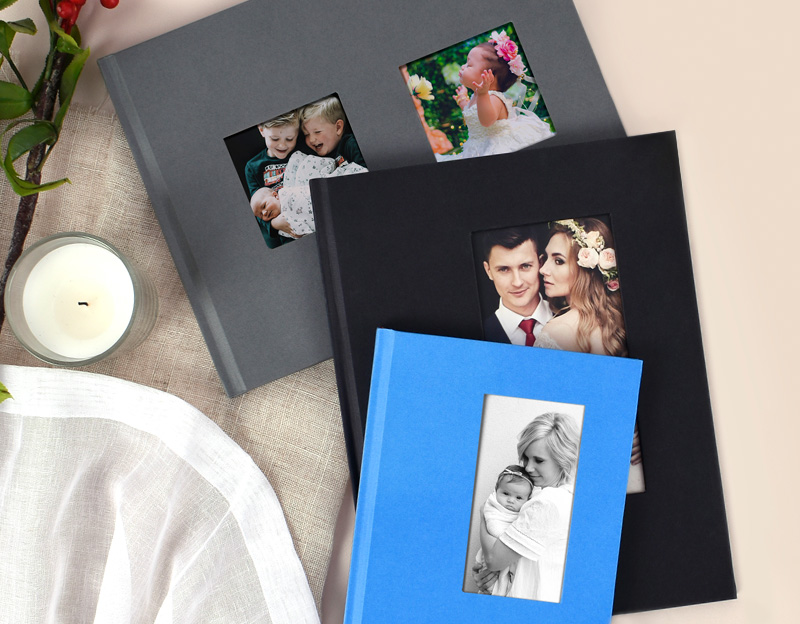 Window Die Cut Hardcover Photo Book