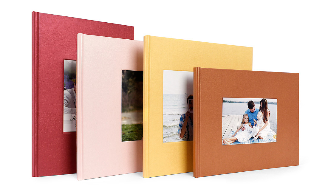 Wrap up for Window Die Cut Photo Book
