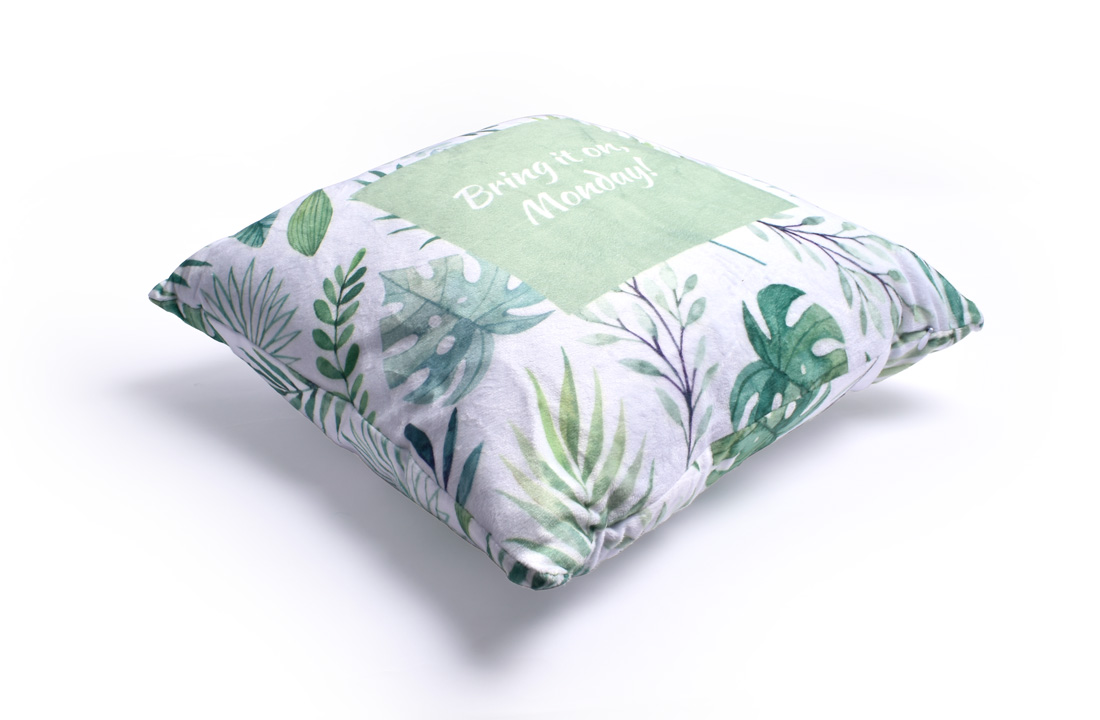 With Cushion