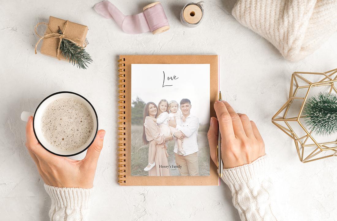 Gift photo notepad